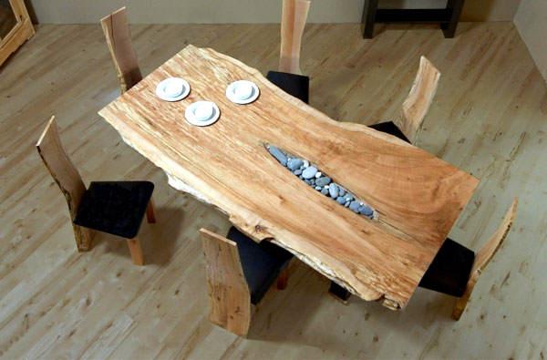 Es tendencia en decoraci n madera sin tratar el blog de - Muebles de madera sin tratar ...
