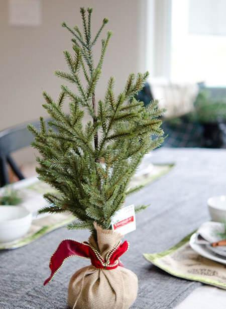 20 ideas originales para centros de mesa navide os el - Centros navidenos de mesa ...