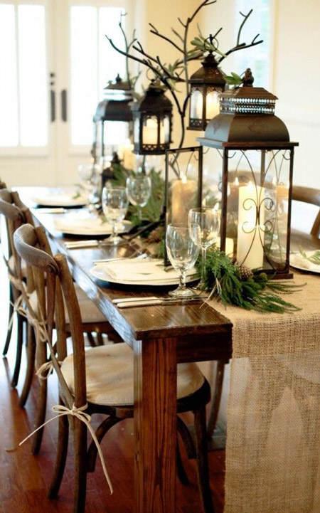 20 ideas originales para centros de mesa navide os el - Centros de mesa de comedor originales ...