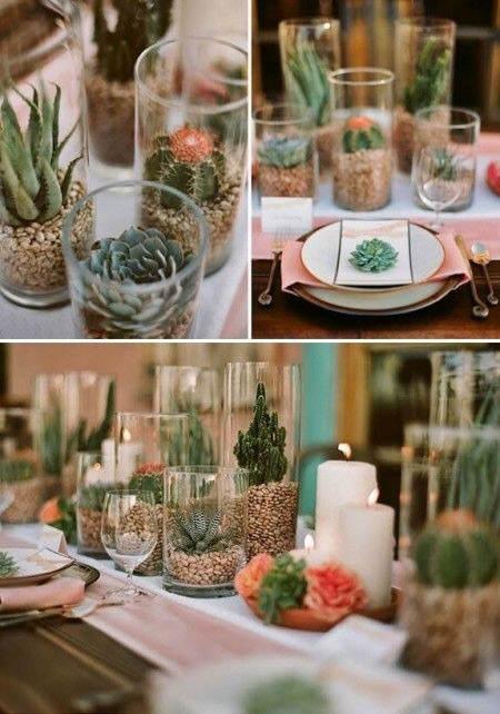 Ideas para decorar con cactus el blog de due home el for Ideas decorativas home