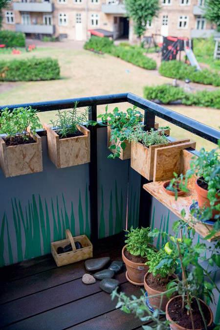 Ideas para decorar con huertos urbanos el blog de due home el blog de due home - Pequeno huerto en casa ...