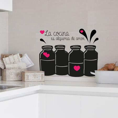 C mo decorar la pared de la cocina el blog de due home - Decorar paredes cocina ...