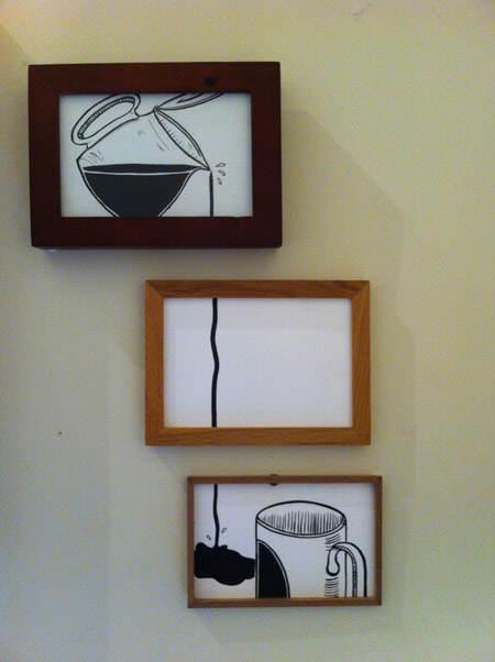 C mo decorar la pared de la cocina el blog de due home for Como colgar un cuadro