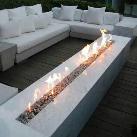Ideas para decorar con chimeneas de bioetanol el blog de for Muebles bio bio comedores