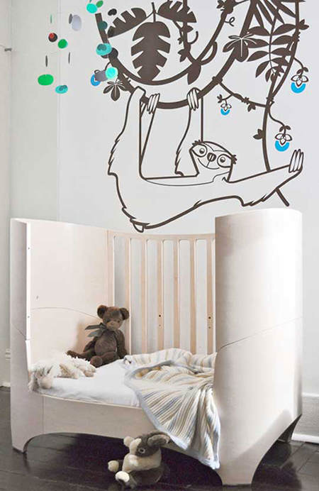 Ideas para decorar una nursery con animales el blog de - Decorar paredes habitacion ...