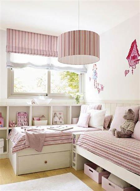 Trucos de almacenaje para habitaciones infantiles el - Dormitorios infantiles dobles ...