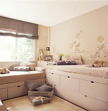 cama doble juvenil iblue comprar