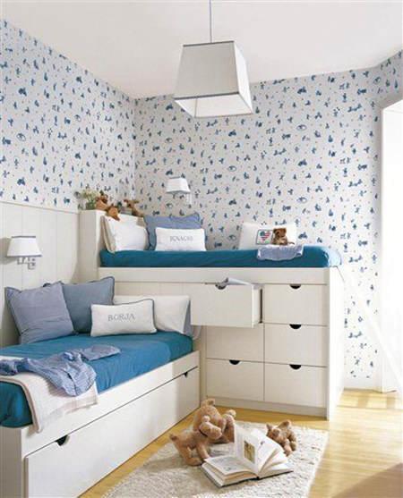 Trucos de almacenaje para habitaciones infantiles el - Habitaciones infantiles dobles ...