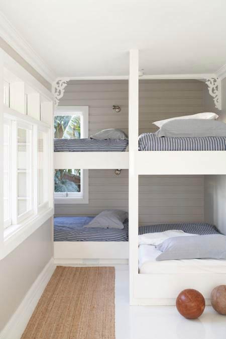 S per ideas deco para habitaciones infantiles peque as - Habitaciones infantiles pintadas a rayas ...