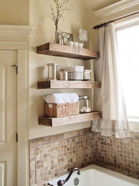 Estante De Baño Para Toallas:ideas para decorar con estanterías – El Blog de Due-Home