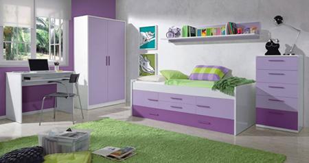 Ideas para decorar una habitaci n adolescente 2 el for Cama doble juvenil