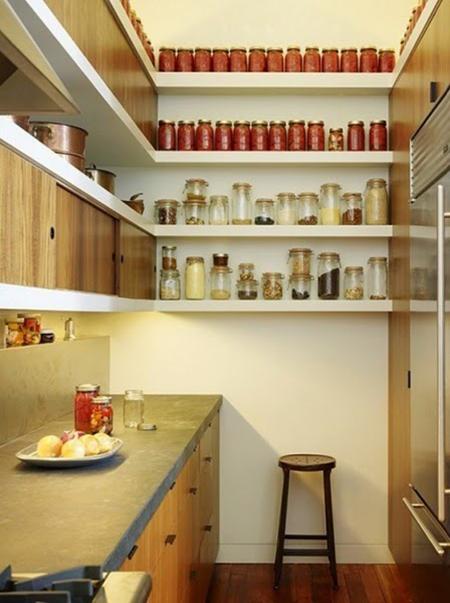 Es tendencia en decoración: cocinas con estantes abiertos - El Blog ...