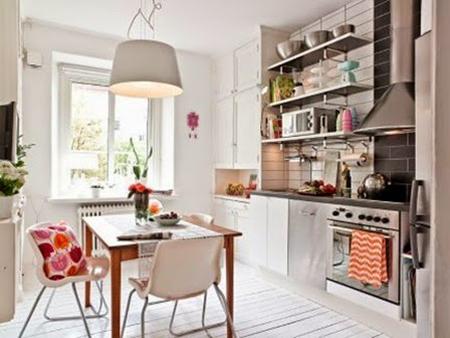 Es tendencia en decoraci n cocinas con estantes abiertos - Estantes de cocina ...