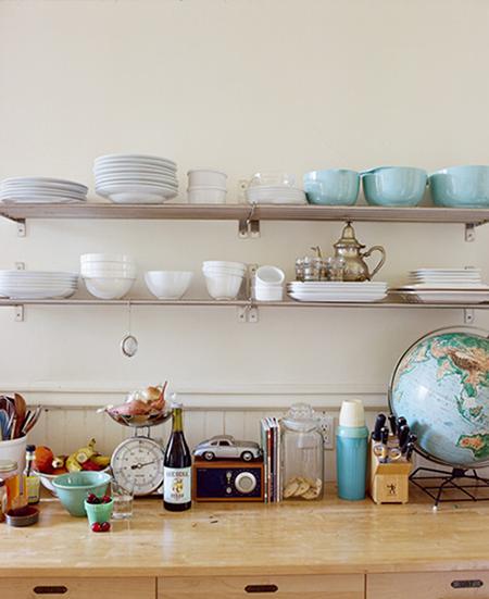 Es tendencia en decoración  cocinas con estantes abiertos - El Blog ... 5b9913a1cc03