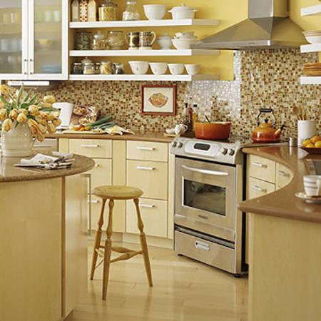 Es tendencia en decoración  cocinas con estantes abiertos - El Blog ... 574701676913