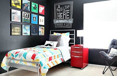 Ideas para decorar una habitaci n adolescente 1 el blog de due home el blog de due home - Colores para habitaciones juveniles masculino ...