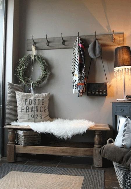 25 recibidores r sticos para dar la bienvenida a tus invitados el blog de due home el blog - Fotos de recibidores de casas ...