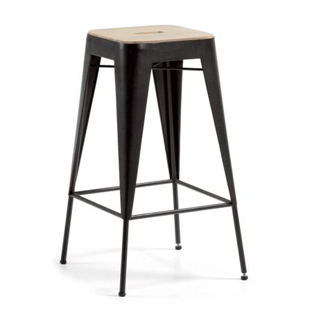 taburete tiva uac este taburete es el estilo industrial highend encarnado en pieza de mobiliario sofisticado y autntico a partes iguales incorpora un
