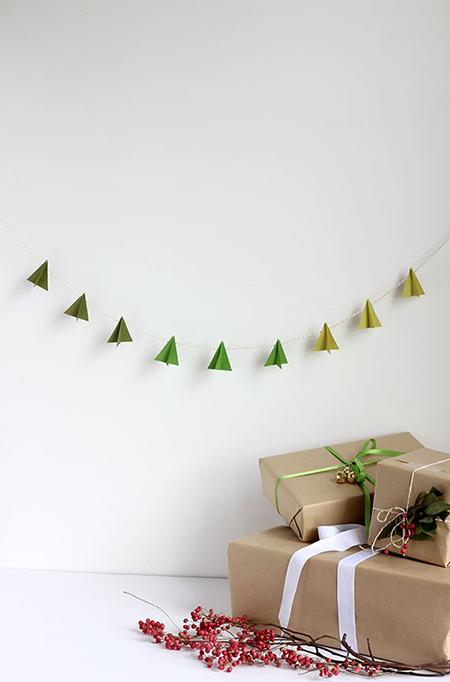Decoraci n de navidad minimalista menos es m s el blog de due home - Decoracion navidena minimalista ...