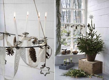 Textil y orgánico para Navidad
