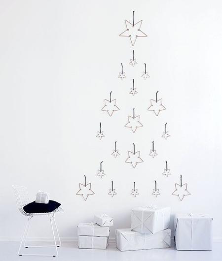 Minimal Home Decor Blog: Decoración De Navidad Minimalista: Menos Es Más