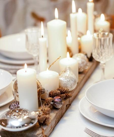 ideas para decorar tu mesa en navidad el blog de due home On decoracion navidena simple