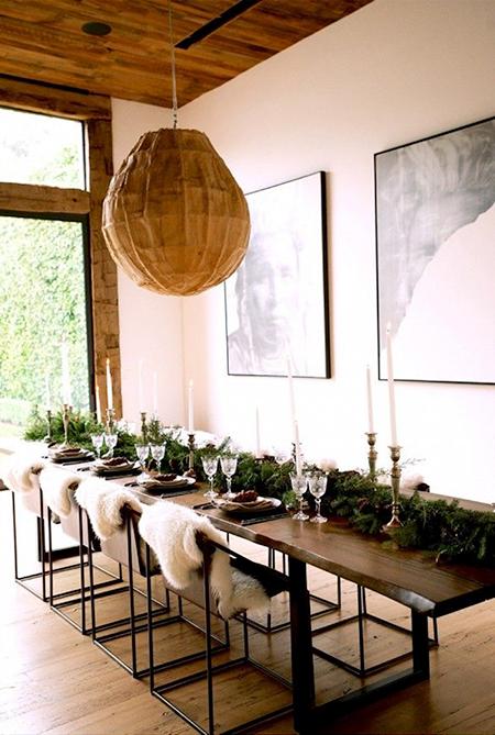 Ideas para decorar tu mesa en navidad el blog de due home - Decorar una mesa ...