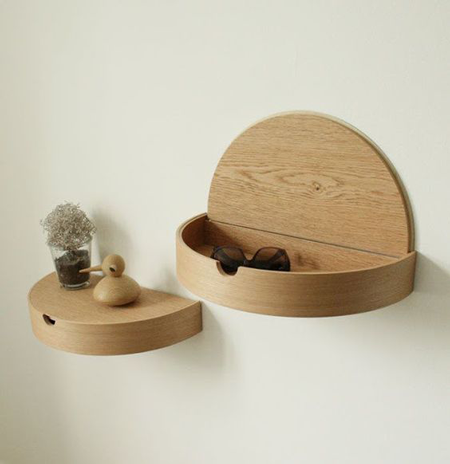 10 ideas de almacenaje para casas peque as el blog de - Mesitas de noche para espacios reducidos ...