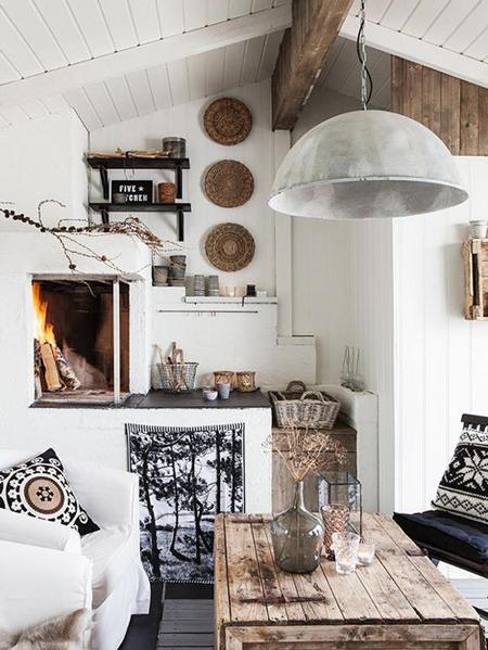 10 maneras de decorar cabañas en la nieve - El Blog de Due-Home ...