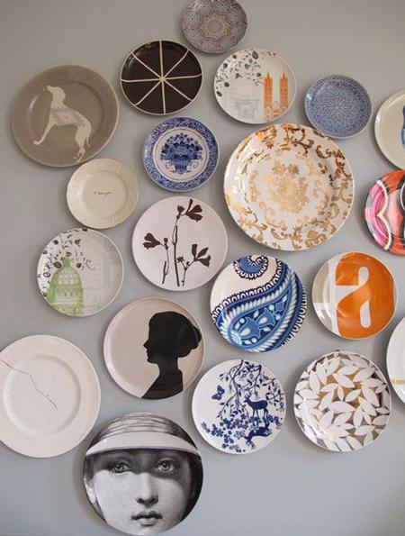 c mo colgar platos decorativos con gracia y estilo el On platos decorativos pared