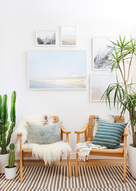 10 maneras de decorar apartamentos de playa el blog de due home - Decorar apartamento playa pequeno ...