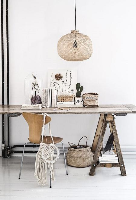 madera natural en tu decoración