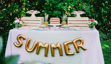 sper ideas para decorar fiestas de verano