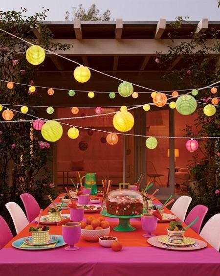 decorar fiestas de verano