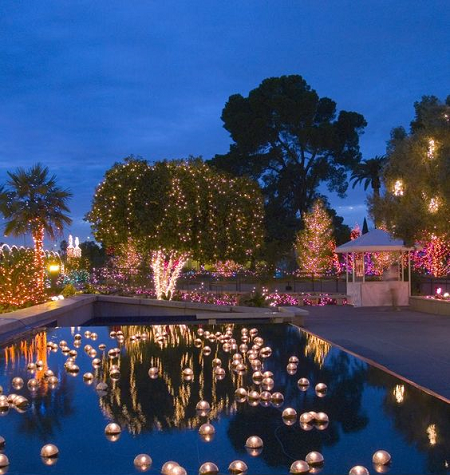 Villa Wedding Candles Pool