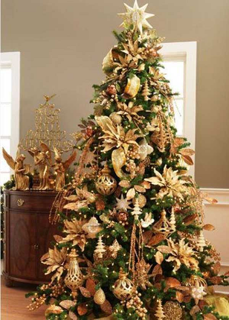 adornos de Navidad brillantes