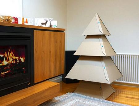 árboles de navidad diy