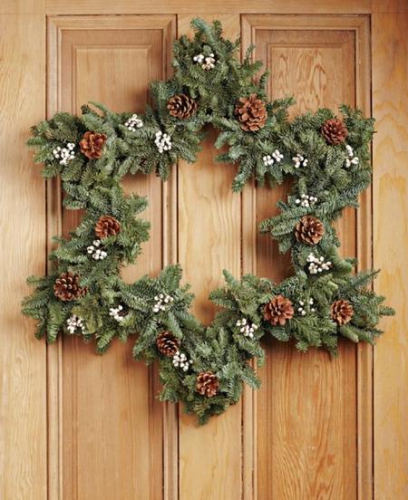 Tendencias en coronas de Navidad 2016