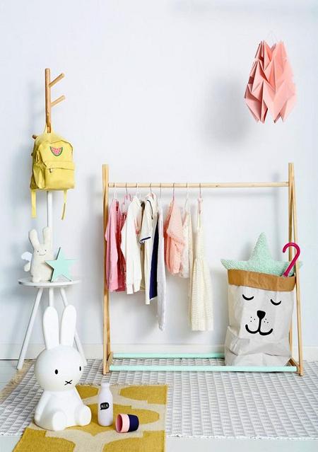 Colgadores de ropa para habitaciones infantiles el blog - Ideas pintar habitacion infantil ...