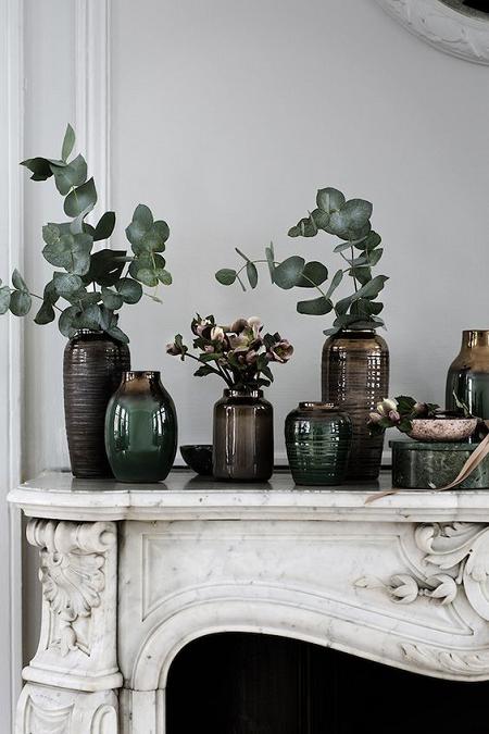 decorar con eucalipto