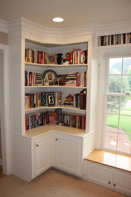 Ideas para decorar con estanter as esquineras el blog de for Esquineras de pared