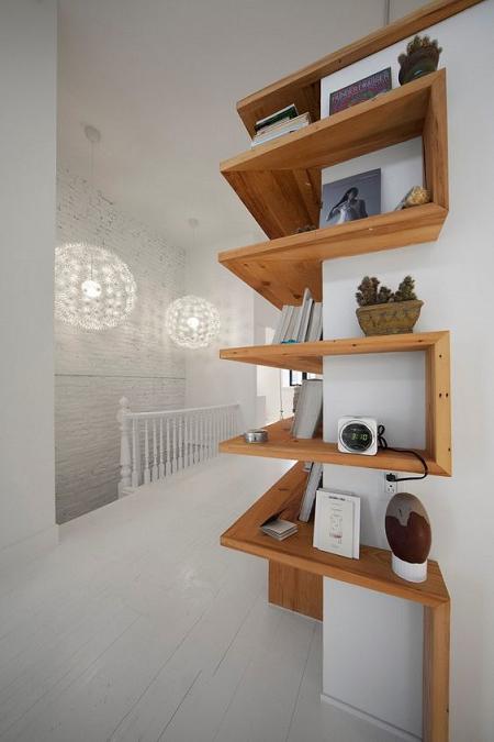 Ideas para decorar con estanter as esquineras el blog de - Esquineras de pared ...