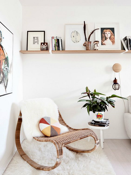 Ideas para decorar con estanter as esquineras el blog de - Baldas esquineras ...