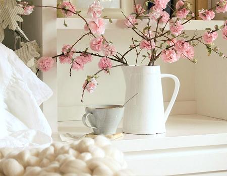 decorar con plantas de papel