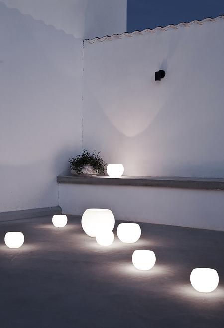 lámparas de verano