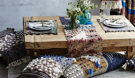 Claves para poner la mesa al estilo boho chic el blog de due home - Decoracion estilo hippie chic ...