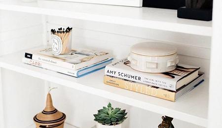 Ideas Para Decorar Estanterias Pequenas En El Salon El Blog De Due - Objetos-para-decorar-un-salon