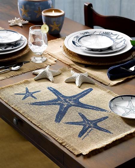 decorar con estrellas de mar