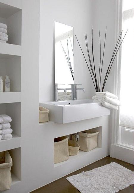 Cómo decorar estanterías de baño | El Blog de Due-Home