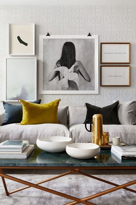 decorar con fotos de moda